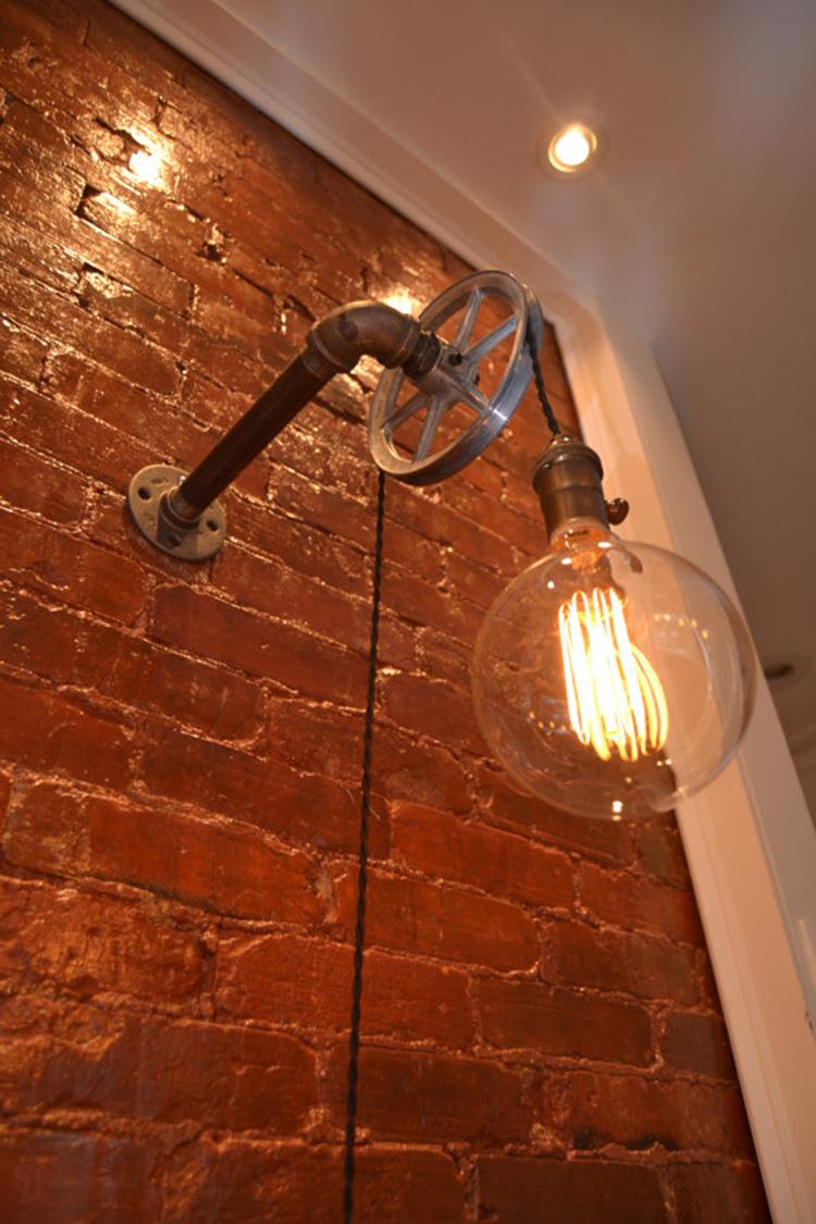 Loft Vintage Nostalgic <font><b>Industrial</b></font> Lustre Water Pipe Pulley Wall Sconce Lamp Resturant Hotel Bar Stair <font><b>Home</b></font> <font><b>Decor</b></font> Modern Lighting