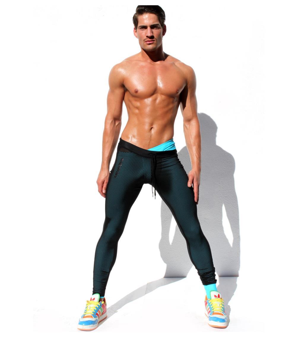 Mens Workout Capris