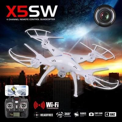 SYMA RC Drone 4CH 2.4G SYMA X5SW FPV with 2.0MP HD camera WiFi RC Quadcopter 6-Axis syma x5c upgraded version