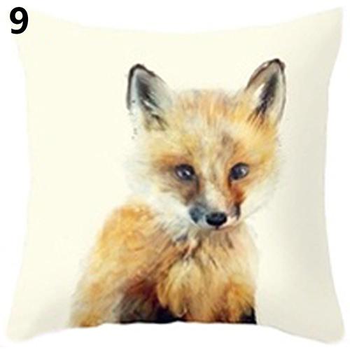 Wholesale Pillow Case New 2016 Fashion Cute Wild Animal