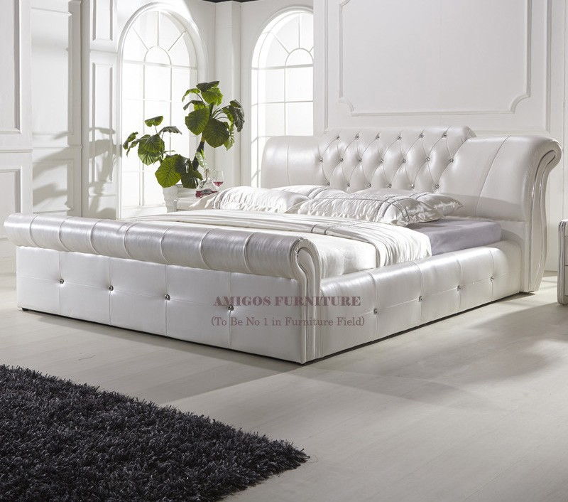 Luxury Latest Bedroom Furniture King Size Bed Sex