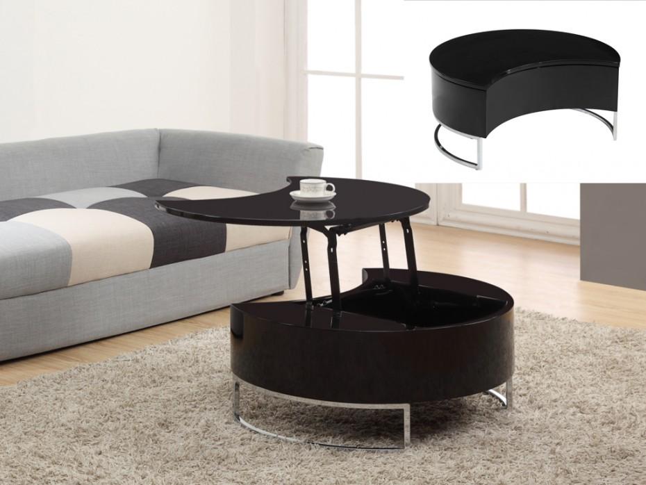 Tisch Design Eis Optik