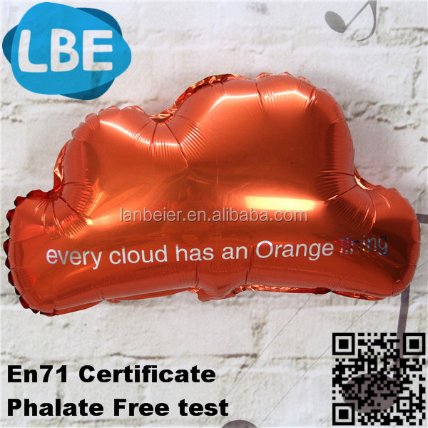 personnalis forme de nuage mylar ballon ballon id de produit 60287676848. Black Bedroom Furniture Sets. Home Design Ideas