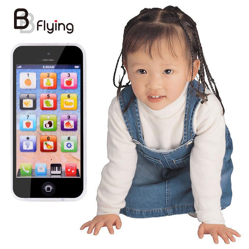 2016 Baby Toy Phone Mobile Simulator Music Phone Touch Screen Children Toy Electronic Learning Model