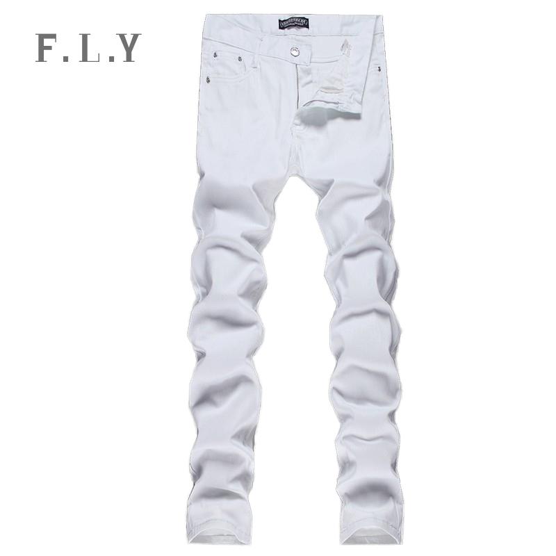 Mens White Jeans 47