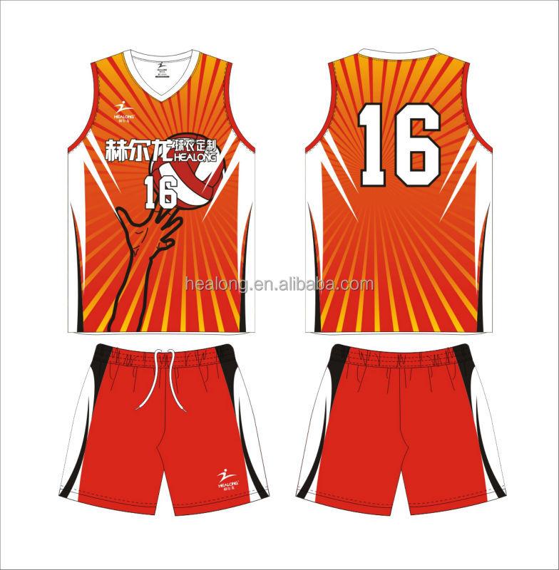 Custom Volleyball Uniform 51