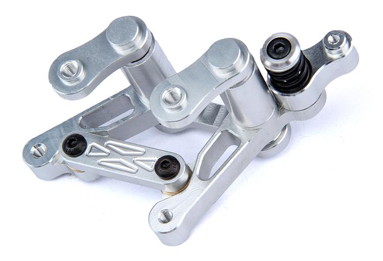 1 5 R C racing car CNC Alloy Steering Parts Set Baja 5B Parts Free shipping