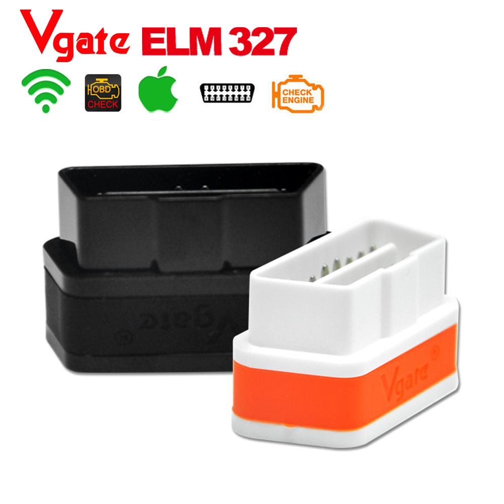 Vgate wi-fi икар 2 OBDII ELM327 iCar2 OBD диагностический интерфейс для IOS iPhone , iPad 8 цвет выбрать