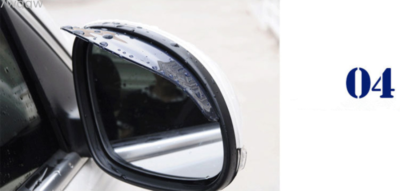 7186b4719db0f4 1Pair Car Back Mirror Eyebrow Rain Cover For Land Rover LR4 LR3 LR2 Range  Rover Evoque - us169