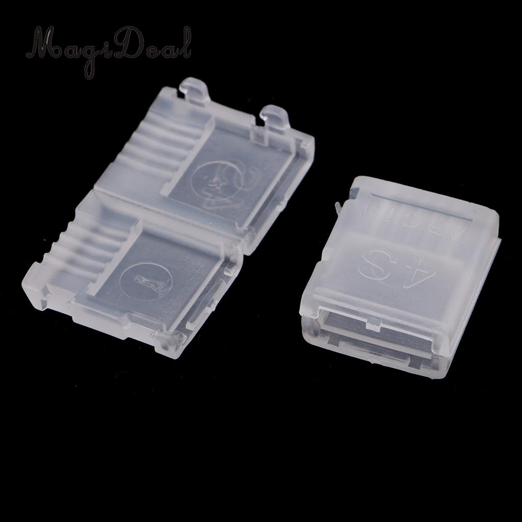 20pcs AB Clip Buckle JST Plug Connector Protector Charge Head Saver for 2S 3S 4S 5S 6S Lipo Battery
