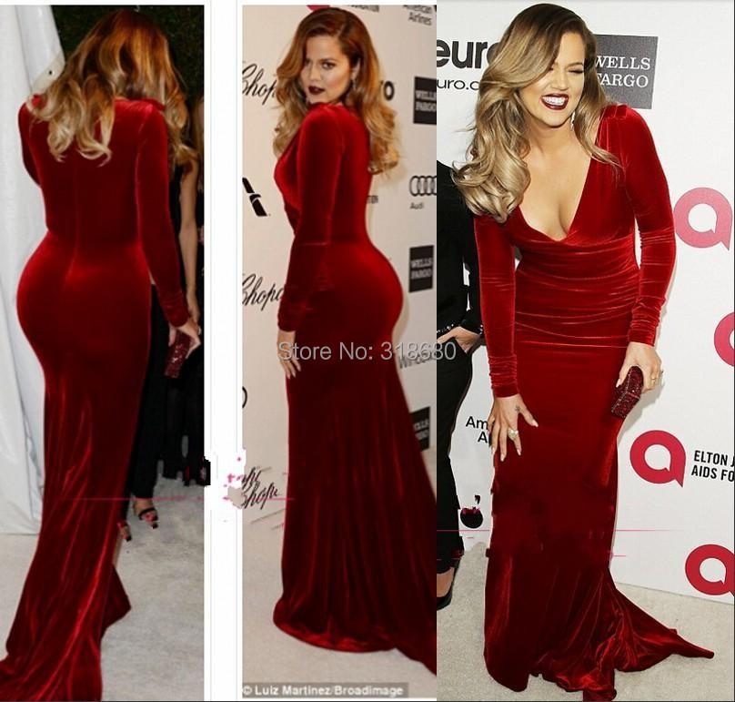 94001cb576 Turmec » red velvet long sleeve dress