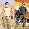 Typhon Mardrake Tactical military uniform clothing army combat uniform tactical pants with knee pads camo hunting
