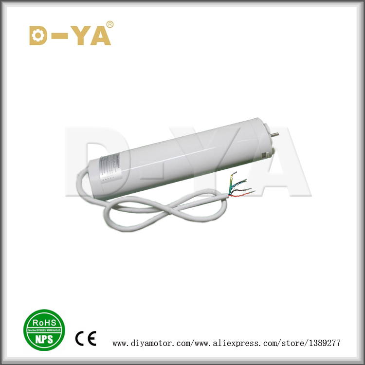 Factory Supplied double open/single open Aluminum Cover DIYA Brand Motor For Smart Home
