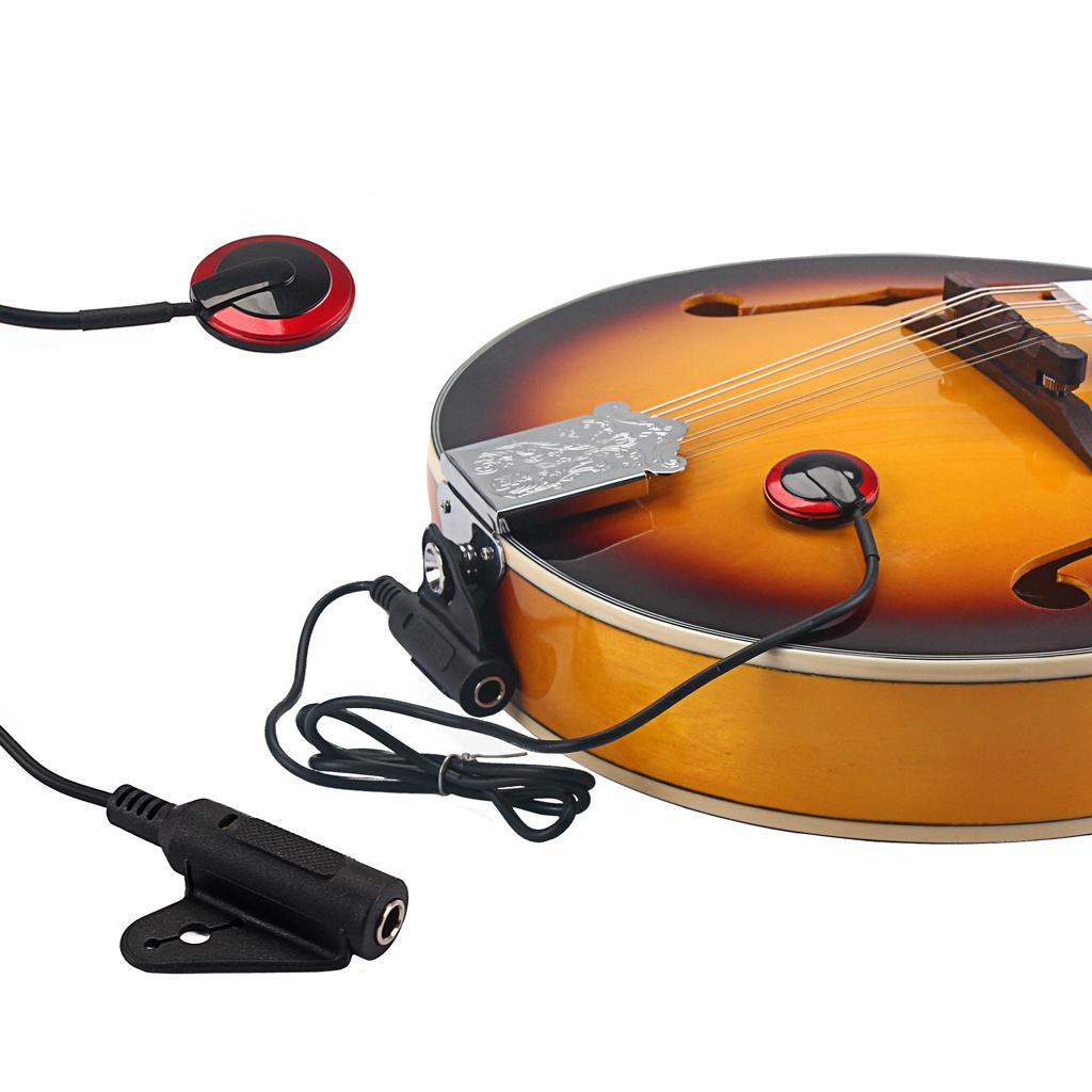 1//4inch Pickup Piezo Transducer For Guitar Violin Ukulele Mandolin Banjo