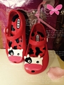 Kids Girl Sandals Summer 2015 Mini Melissa Cow Shoes Soft Flat Jelly Non Slip Shoes Kids