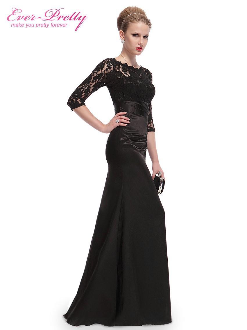 09882 Free shipping Ever-Pretty Elegant Long Sleeve Lace Women Long ... 14db5ffc7