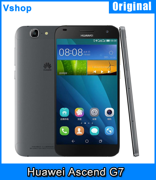 91e77662170c8 Original Huawei Ascend G7 5 5 inch 2GB RAM 16GB ROM Android 4 4 MSM8916 Quad