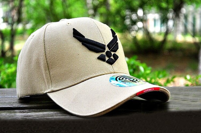 175f85a96a9 Outdoor US Air Force hats Casual Tactical Baseball Cap Cycling Beisebol Cap  Army Sport Men Mountaineer embroidery Shade Caps