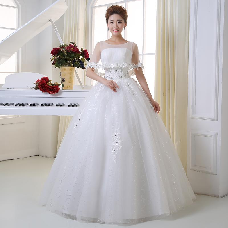 Wedding Gown Bra: 2016 Spring And Autumn Bride Bra Wedding Dress Floor