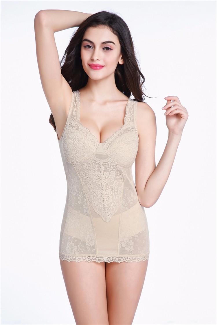 bb35863e7 2019 Wholesale IYUNYI M L XL XXL Women Magnetic Lace Breast Corset ...