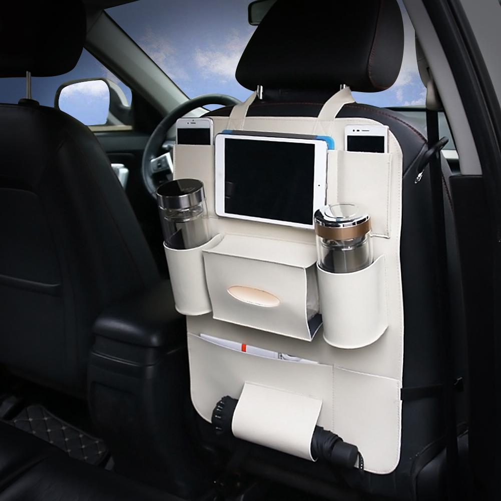 Автомобильная сумка для хранения на спинку сиденья, органайзер для детей, коврики, сумка-Органайзер для багажника, Авто Укладка, аксессуары ...(Китай)
