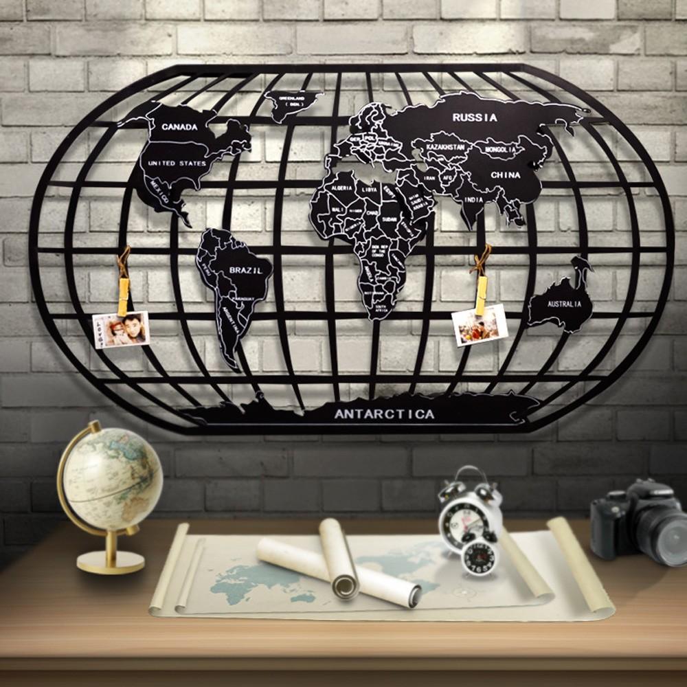 la maison et le bureau promotionnel 3d d coration suspendus impression m tal carte murale du. Black Bedroom Furniture Sets. Home Design Ideas