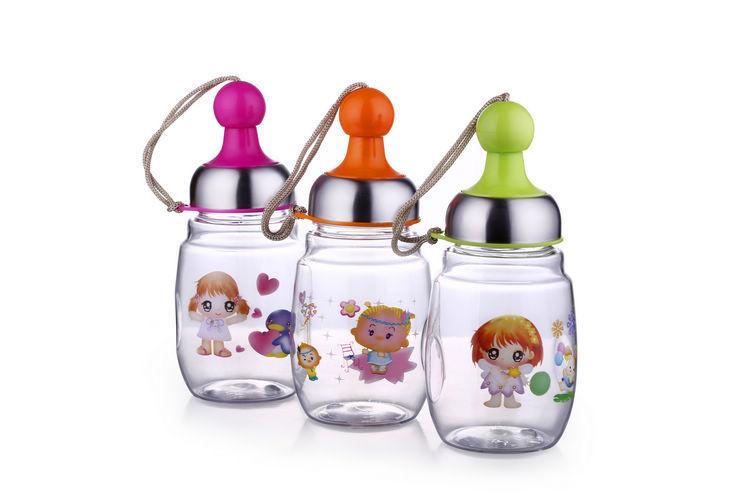 Пк crerative 200 мл младенцы фляжка для воды знаки малыша чаша 2261