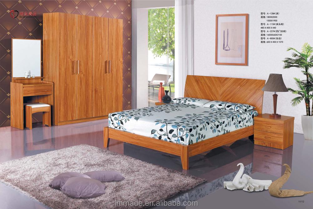 Indian Furniture Bedroom Bed,Home Bedroom Set,Mdf Bedroom