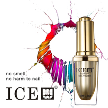 ICE nail gel polish 6pcs soak off 300 colors gel lacquer UV LED Long lasting Top