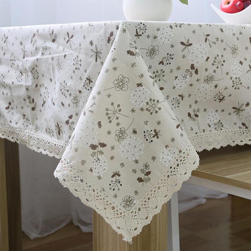 achetez en gros nappes en dentelle de coton en ligne des grossistes nappes en dentelle de. Black Bedroom Furniture Sets. Home Design Ideas