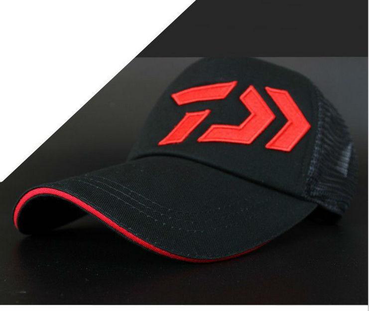 fa1002ed68c6d Wholesale Japanese Daiwa Cap Mens Cool Black Mesh Hat Breathable ...