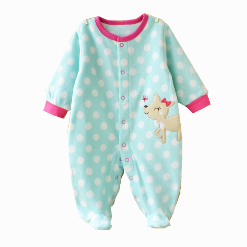 a9819f6d8 Body Baby Bebe Rompers Fleece Carters Boys Girls Roupa Infantil Winter  Clothing Newborn Baby Overalls Body