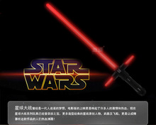 105cm Star Wars Stretch Lightsaber Led Flashing Light Sword Toys Cosplay Weapons Collection toys for christmas