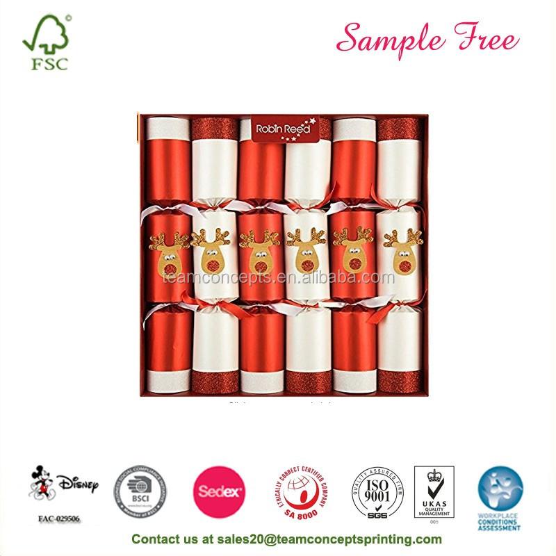 Gift Packaging Wholesale Christmas Crackers - Buy ...