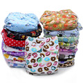 1PC Reusable Waterproof One Size Pocket Cloth Diaper Nappy Baby Minky Printed PUL Outside Suede Cloth