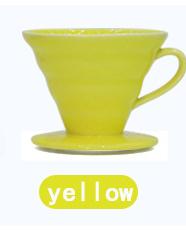 Керамический кофе капельница двигатель V60 стиль ПЕРКОЛЯТОР кофе капельного фильтра чашка залить Кофе чайник с отдельной подставкой для 1-2 ч...(Китай)