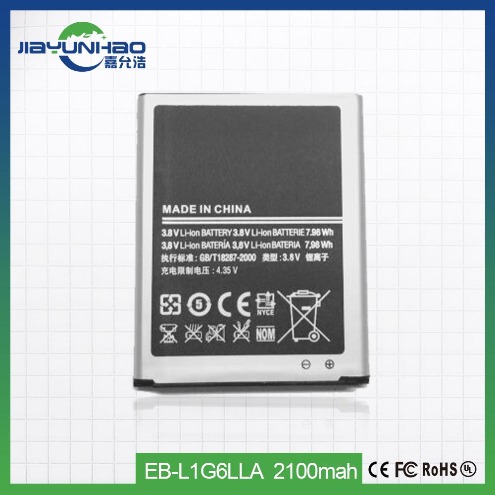 Для samsung galaxy i9300 s3 батарея 2100 мАч оригинальный аккумулятор мобильного телефона Оптовая продажа, изготовление, производство