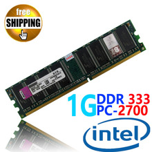 Brand New Sealed DDR1 DDR 333 / PC 2700 PC2700 1GB For Desktop PC DIMM Memory RAM DDR333 333MHz compatible with Intel processor