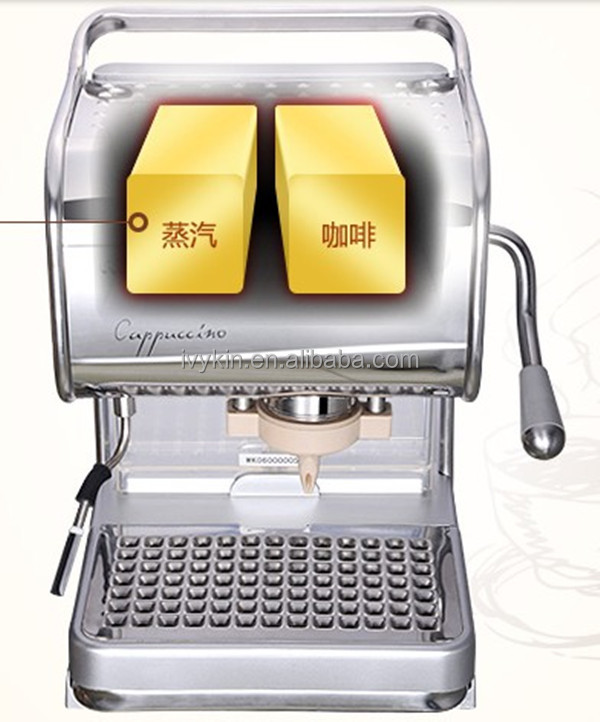 44mm Ese Coffee Pod Espresso Machine With Milk Frother 3l ...