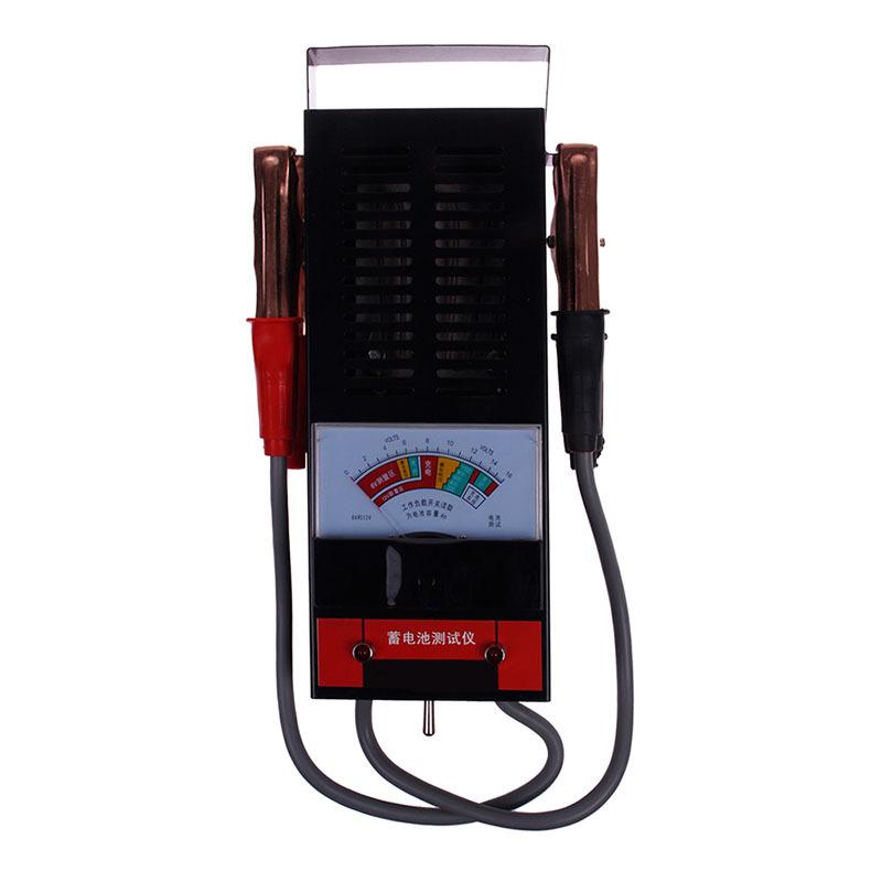 portable 6v 12v battery load and charging system tester analyzer tool. Black Bedroom Furniture Sets. Home Design Ideas