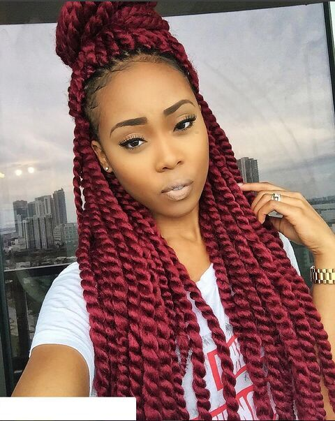 This Post Has Diffe Ways To Style Your Red Twist Hair