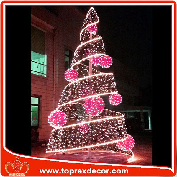 Outdoor Christmas Decorations Cardboard Tree For Quality