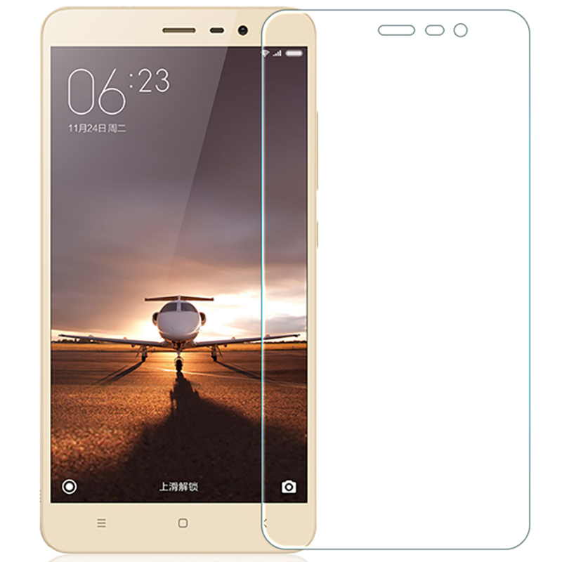 Tempered Glass For Xiaomi Redmi Note 3 Mobile Phone High Quality Screen Protector Film Glass Protective