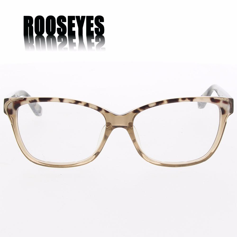 ROOSEYES Women Acetate Optical Eyewear Retro Prescription
