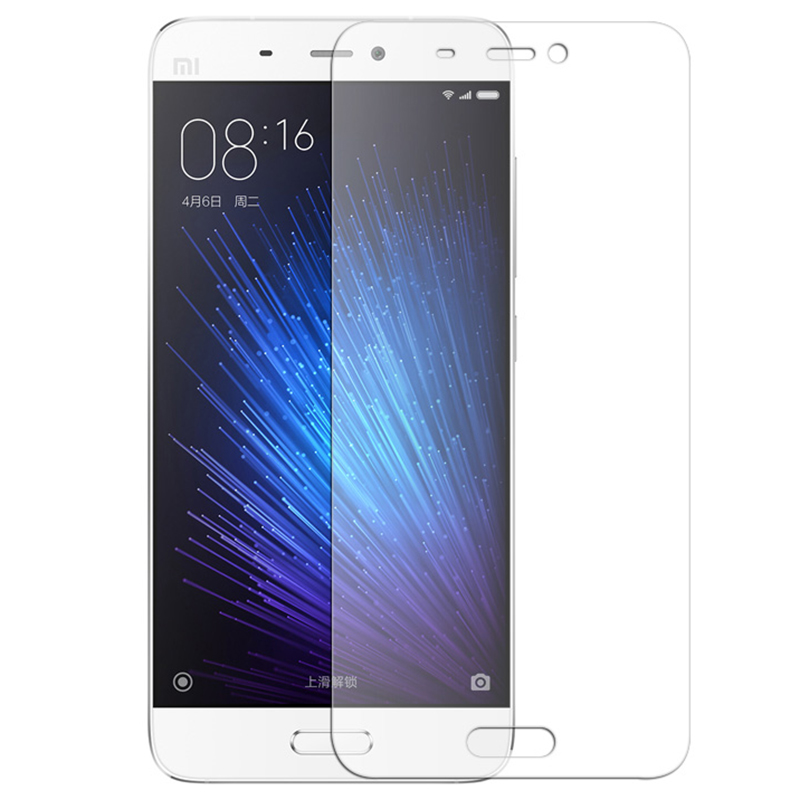 Tempered Glass For Xiaomi Mi5 M5 Mobile Phone High Quality Screen Protector Film Glass Protective Accessories