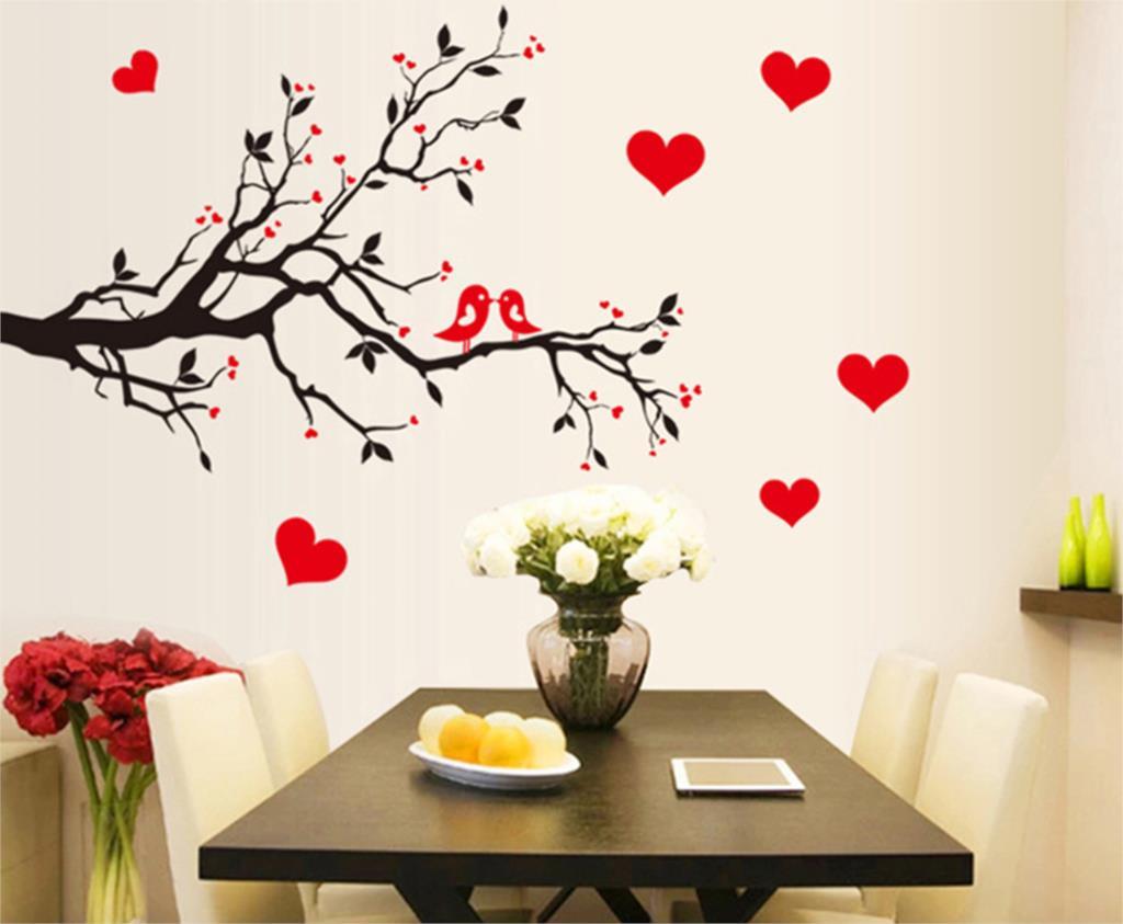 achetez en gros oiseau wall sticker en ligne des grossistes oiseau wall sticker chinois. Black Bedroom Furniture Sets. Home Design Ideas