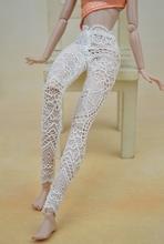 Alta qualidade artesanal de rendas Bottoms calças calças para boneca Barbie roupas roupa Fashion para 1/6 bonecas