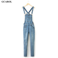 Woman Brand Ripped Hole Denim Jumpsuits Ladies Sexy Slim Casual Romper  Plus Size 36-42 Denim Pencil Jeans For 4 season