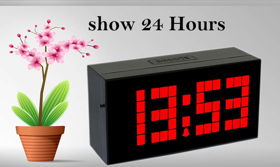 Home & Garden Humor Led Alarm Clock Digital Led Display Voice Control Electric Snooze Night Backlight Desktop Table Clocks Watch Usb Charging Cable To Prevent And Cure Diseases Clocks