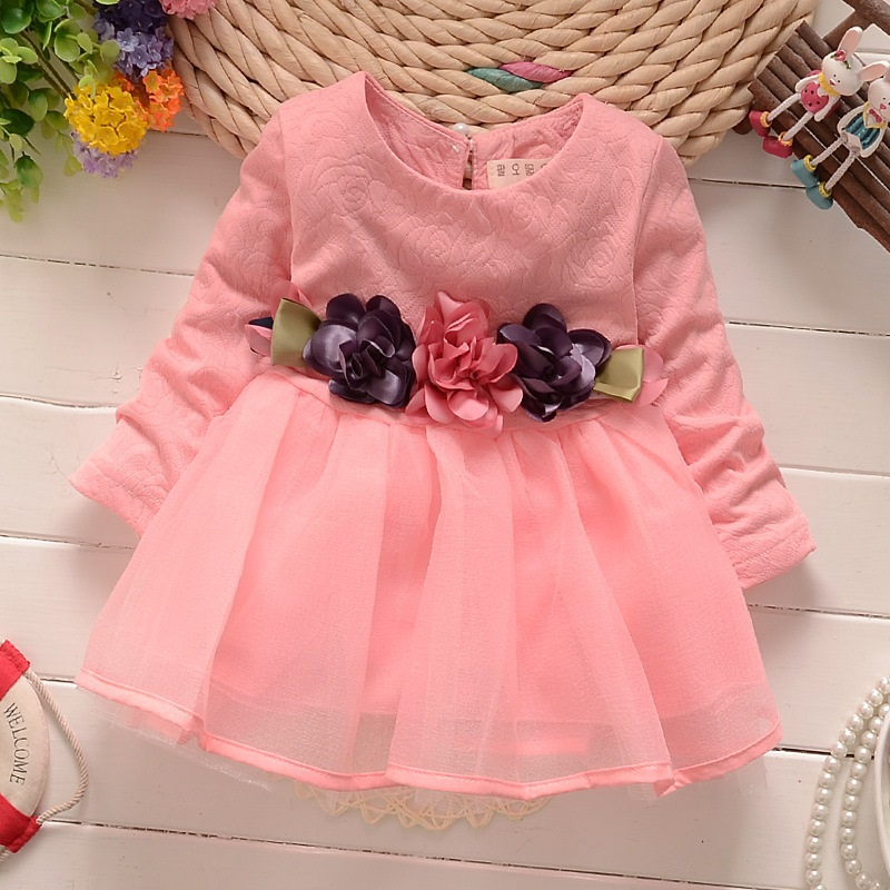 6cf60999b 2019 2017 Winter Newborn Fancy Infant Baby Dresses Girl Frocks ...